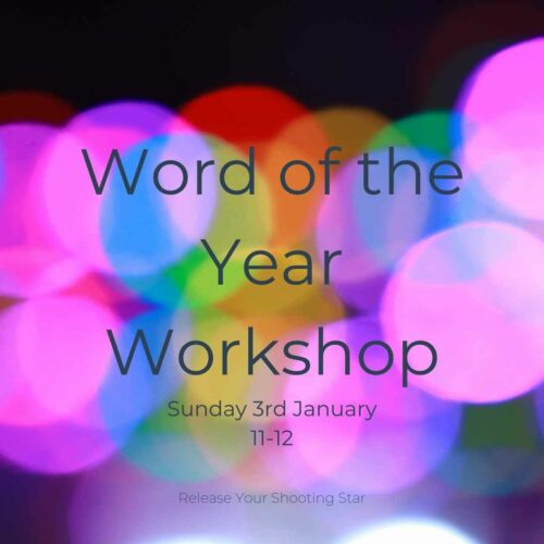 word of the year workshop