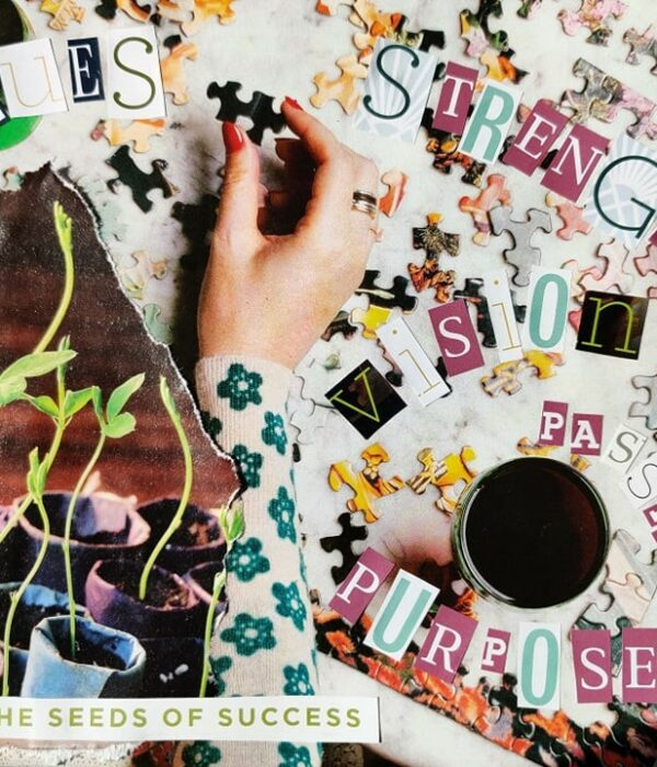 group coaching vision board